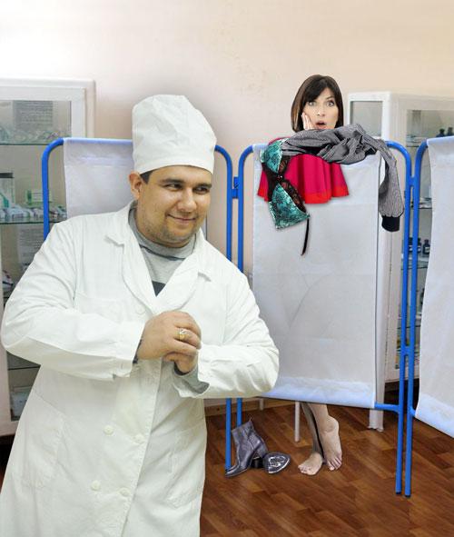 врач раздивается в бальницэ фото